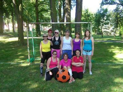 Foto zur Meldung: Frauenfußball auch in Quitzöbel