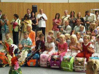 Foto zur Meldung: Einschulung 2009