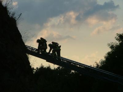 Foto zur Meldung: Wochenendausbildung 2009 der FF Falkenstein/Harz im OT Pansfelde