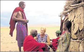 """Foto zu Meldung: Deutsche """"Mama Massai"""" und ihre Freunde berichten in Elbingerode über Arbeit in Afrika"""