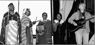 """Foto zu Meldung: """"Spürbarer Hauch von Afrika"""" - """"Mama Massai"""" in Elbingerode"""