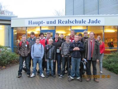 Foto zur Meldung: Schülerinnen und Schüler der HRS Jade besuchen die AGRITECHNICA
