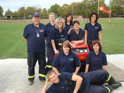 Foto zur Meldung: Feuerwehrfrauen kämpfen bei Landesmeisterschaft