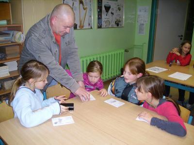 Foto zur Meldung: Krimi- Lesenacht der 4. Klassen