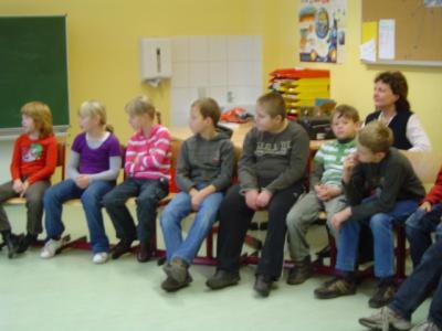 Foto zur Meldung: Vorlesetag mit Anke Blumental vom RBB