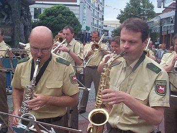 Foto zur Meldung: Polizei macht Musik