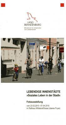 """Foto zur Meldung: Fotoausstellung LEBENDIGE INNENSTÄDTE """"Soziales Leben in der Stadt"""""""