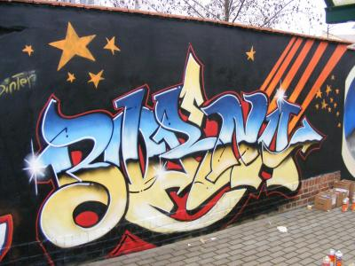 Foto zur Meldung: Graffitiprojekt gemeinsam mit den Bornaer Stadtwerken