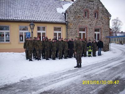 Vorschaubild zur Meldung: Braunkohlmarsch der Reservistenkameradschaft Generalfeldmarschall Graf Neidhardt von Gneisenau -  Wefensleben