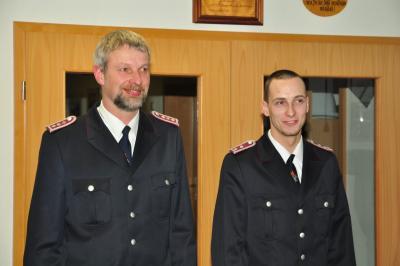 Foto zu Meldung: Verleihung der Ehrennadel des Kreisfeuerwehrverbandes Rügen in Silber
