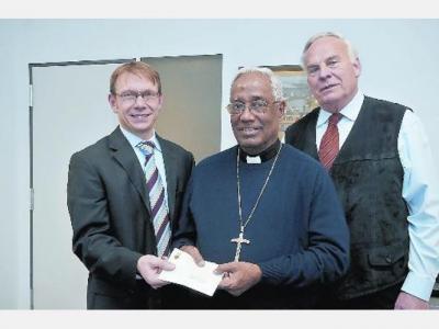 Vorschaubild zur Meldung: Indischer Erzbischof Raphael Cheenath in Werne