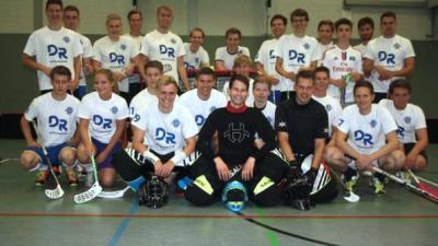 Foto zu Meldung: floorball: BW96 im Pinneberger Tageblatt