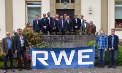 Foto zur Meldung: RWE bringt weiterhin Licht in die Verbandsgemeinde Kell am See