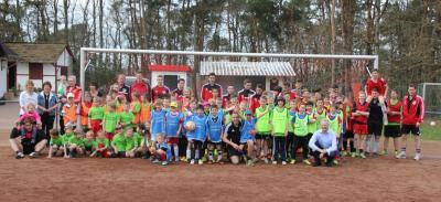 Foto zur Meldung: Fußballtrainingscamp für Kids  auch 2015 wieder ein riesen Erfolg