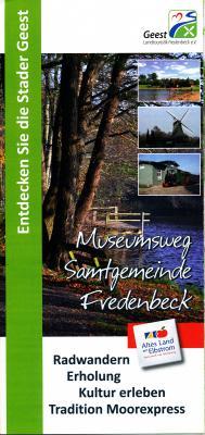 Foto zur Meldung: Flyer Museumsweg vorgestellt; jetzt 3. Auflage