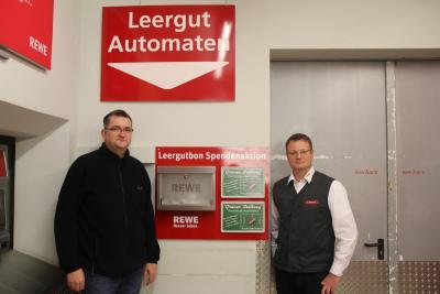 Foto zur Meldung: Die REWE Buhlmann OHG unterstützt die TuS Burgschwalbach