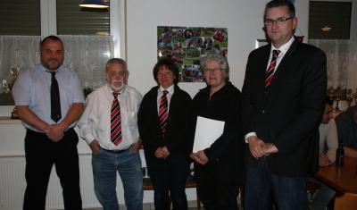 Foto zur Meldung: Ehrenamtspreis des FV Rheinland