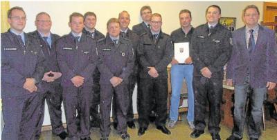 Foto zur Meldung: Freiwillige Feuerwehr:Marco Witt ist Wehrführer in Burgschwalbach
