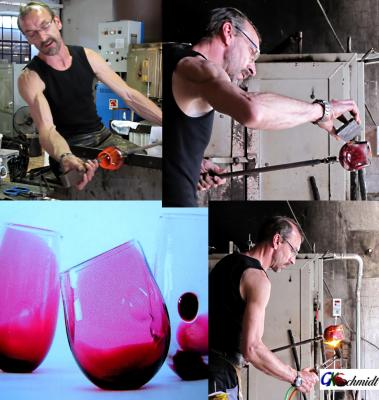 Vorschaubild zur Meldung: freigeformtes Glas miterleben,Termine 2019 - 2020