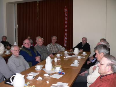Foto zur Meldung: Altencafe`: Vortrag zur Sicherheit im Alter
