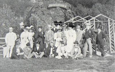 Foto zur Meldung: Königlicher Besuch am Johannisbrunnen
