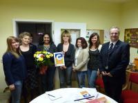 Foto zur Meldung: Verleihung des Deutschen Kindergarten Gütesiegels