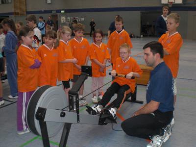 Foto zur Meldung: Indoor-Rowing-Cup in Havelberg