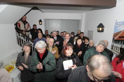 Foto zur Meldung: Kunstausstellung im Weißgerbermuseum eröffnet