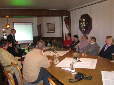 Foto zur Meldung: Unternehmerstammtisch am 09.02.2011