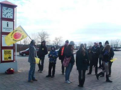 Foto zur Meldung: Junge Gemeinde am Streckenaktionstag in Jüterbog