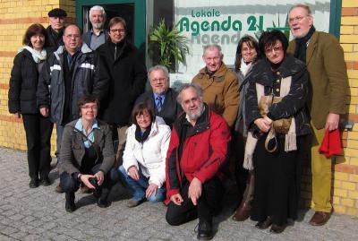 Foto zur Meldung: Mitgliederversammlung von Brandenburg 21 wählte neuen Vorstand