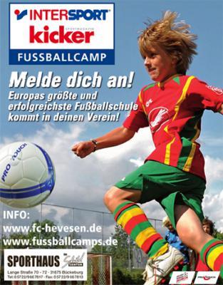 Foto zur Meldung: Intersport Fußballcamp beim FC Hevesen