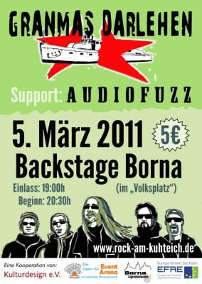 Foto zur Meldung: 5 - Maliges im Backstage mit Granmas Darlehen und Audiofuzz!