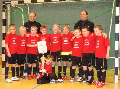 Foto zur Meldung: F-Junioren überraschend Hallen-Kreismeister 2011