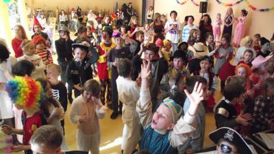"""Foto zu Meldung: Faschings-Party in der Grundschule """"Teupitz am See"""""""