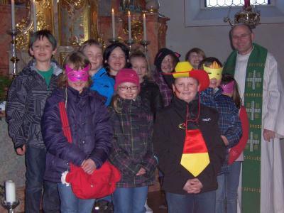 Foto zur Meldung: Faschingsgottesdienst in St. Georg