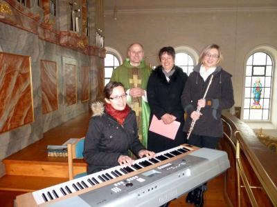 Foto zur Meldung: Gottesdienst mit anspruchsvollen geistlichen Liedern