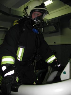 Foto zu Meldung: Ausbildung Atemschutzgeräteträger