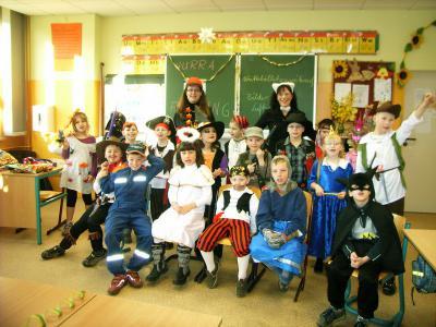 Foto zur Meldung: Faschingsfeier  der Klasse 1b