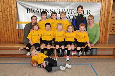 Foto zur Meldung: Kindergarten - Fussballturnier mit Kids des TSV Barmke