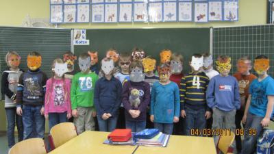 Foto zur Meldung: Lustige Tiermasken