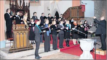 Foto zu Meldung: Landesjugendchor überzeugt in St.Jakobi