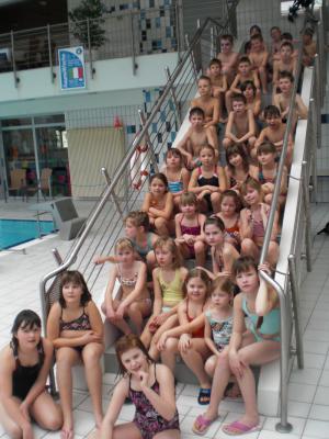 Foto zur Meldung: Alle lernen schwimmen