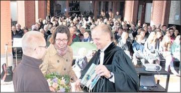 """Foto zu Meldung: St. Jakobi-Gemeinde Elbingerode: Bewegender Abschied: """"...•sind dann mal weg"""""""