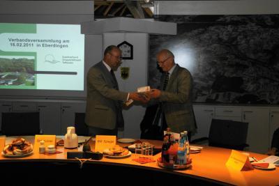 Vorschaubild zur Meldung: Verbandsversammlung tagte in Eberdingen