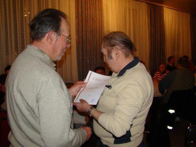 Foto zur Meldung: Jahreshauptversammlung der Wusterhausener Petri Jünger