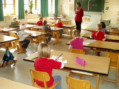 Foto zur Meldung: Schnupperunterricht in der Grundschule