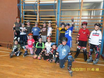 Foto zur Meldung: Skaterlehrgang 2011