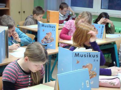 Foto zur Meldung: Kängurutag - Mathematikwettbewerb