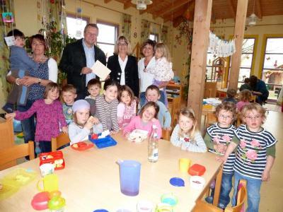 Foto zur Meldung: Ein Leiterwagerl für die Kleinen